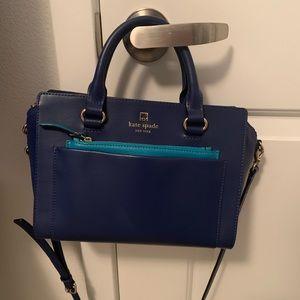Blue Kate Spade bag!
